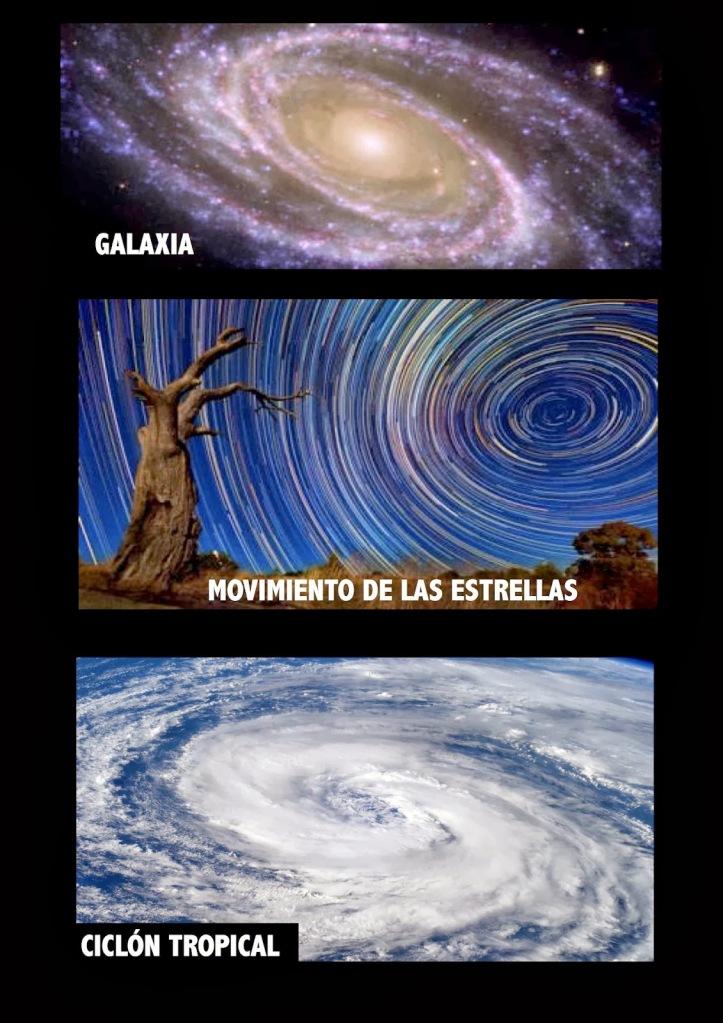 Espiral Evolutiva - Galaxia - Estrellas - Ciclon