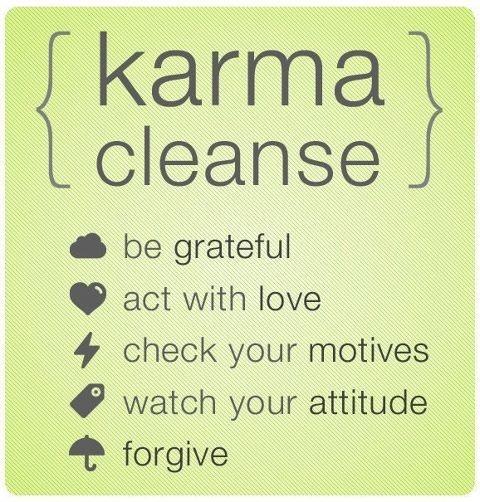 Karma Cleanse- Daily Astral - Diario de Astrologia - Punta del Este - Uruguay - Buenos Aires - Argentina