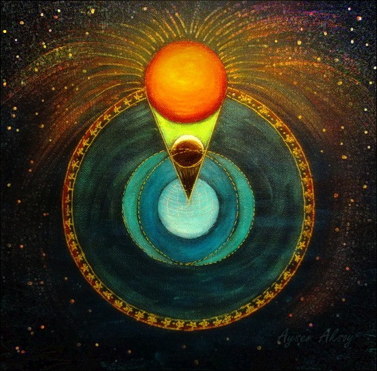 Eclipse solar de luna nueva en tauro el cielo la tierra for En que fase de luna estamos hoy