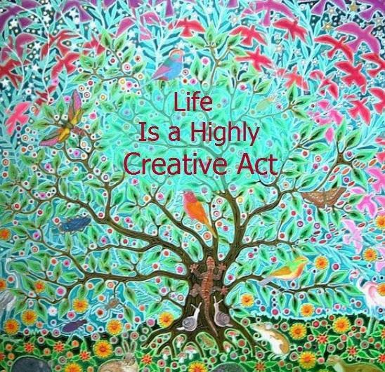Life is a Creative Act - Daily Astral - Diario de Astrologia