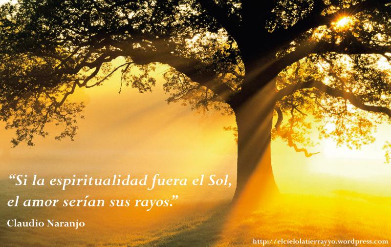Frase-Claudio-Naranjo---Si-la-Espiritualidad-fuera-el-Sol,-el-amor-serian-sus-rayos---El-Cielo,-la-Tierra-y-Yo