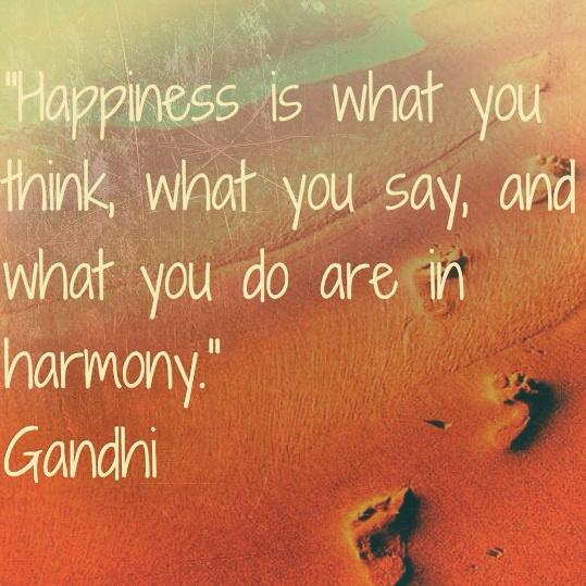 Happiness Gandhi