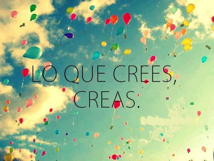 Creer es Crear 2014